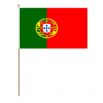 Portugal Country Hand Flag - Large.